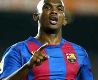 Eto'o, Ronaldinho, ...   SOU uns CRACS